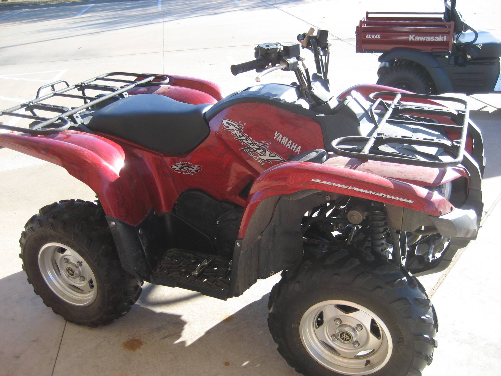 2009 Yamaha Grizzly 550 FI Auto. 4x4 EPS Special Edition in Shawnee, Oklahoma - Photo 1