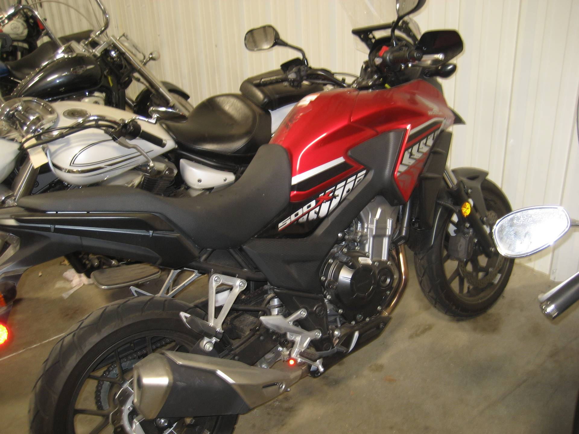 2017 Honda CB500X in Shawnee, Oklahoma - Photo 1