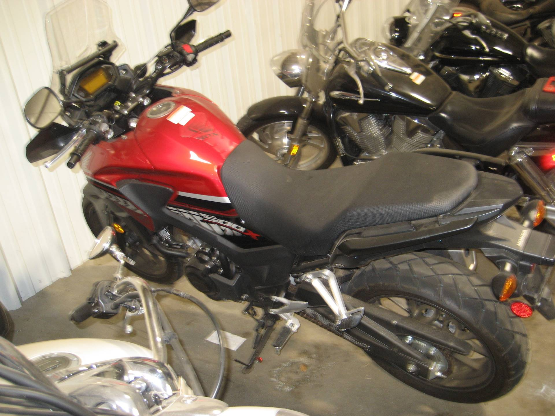 2017 Honda CB500X in Shawnee, Oklahoma - Photo 2