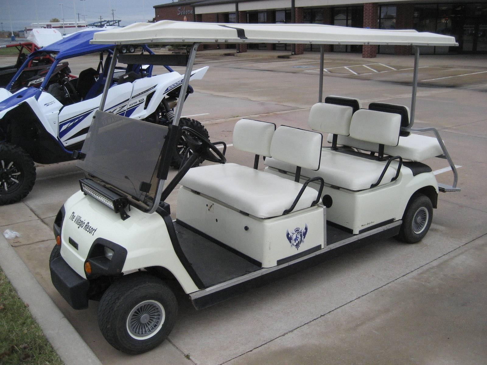 2009 Yamaha Concierge 4-Passenger Electric 2
