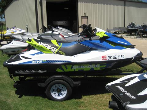 2016 Sea-Doo WAKE 155 in Shawnee, Oklahoma