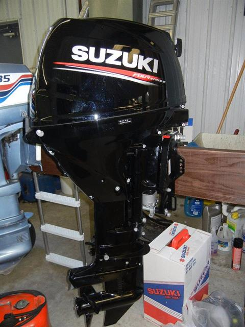 2017 Suzuki Marine DF25ATL2 in Green Bay, Wisconsin