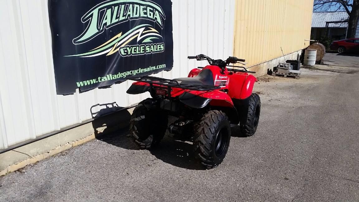 2008 Kawasaki Prairie 360 4x4 3