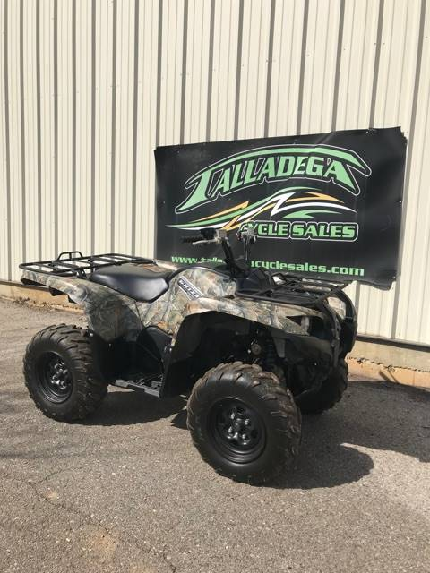 2013 Grizzly 550 FI Auto. 4x4 EPS