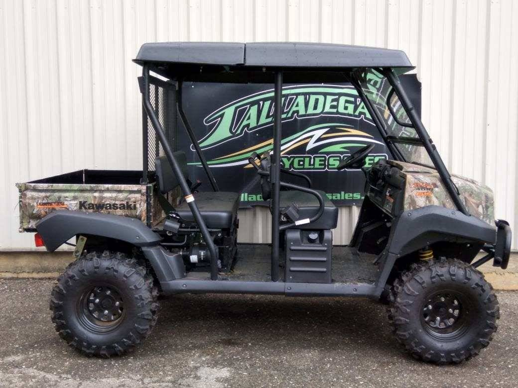 2019 Kawasaki Mule 4010 Trans4x4 Camo in Talladega, Alabama - Photo 2
