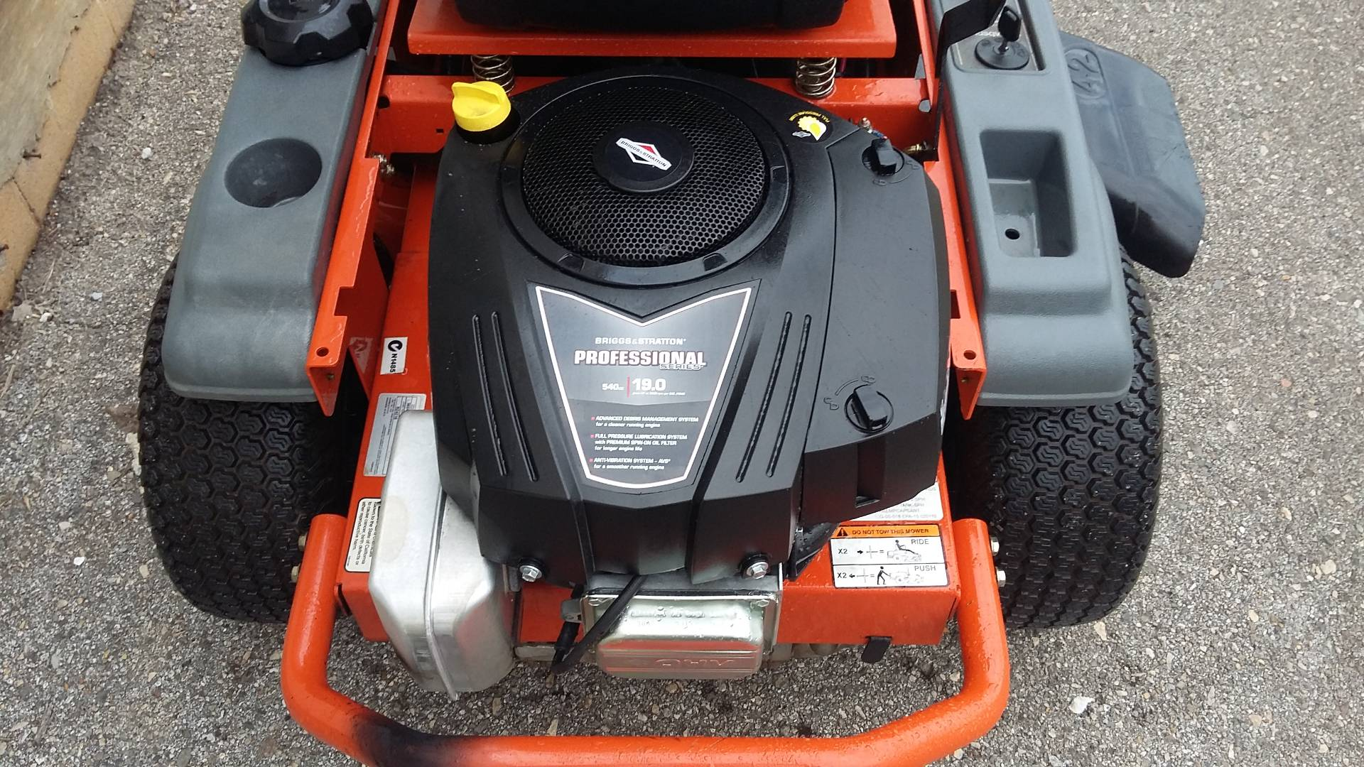 2012 Husqvarna Power Equipment RZ4216 in Talladega, Alabama