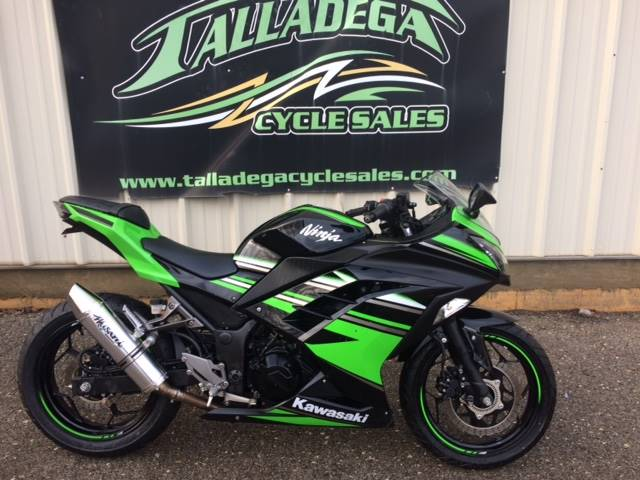 2016 Kawasaki Ninja 300 ABS KRT Edition in Talladega, Alabama