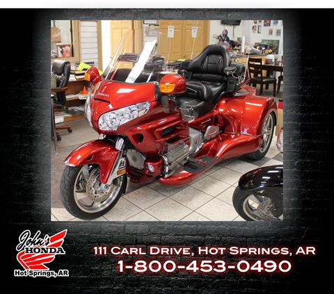 2010 Honda GL1800 Goldwing with Roadsmith Trike Conversion in Hot Springs National Park, Arkansas