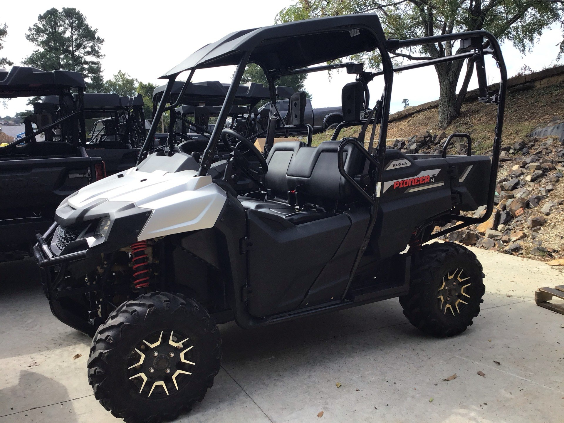 2017 Honda Pioneer 700-4 Deluxe in Hot Springs National Park, Arkansas - Photo 1
