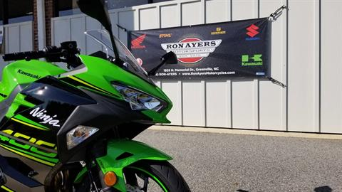 2018 Kawasaki Ninja 400 KRT Edition in Greenville, North Carolina - Photo 16