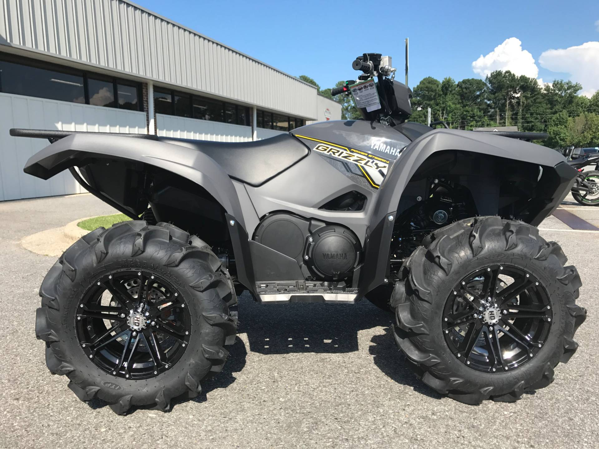 New 2018 yamaha grizzly eps atvs in greenville nc stock for Yamaha north county