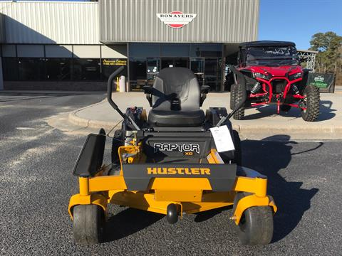 2021 Hustler Turf Equipment Raptor XD 54 in. Kawasaki FR691 23 hp in Greenville, North Carolina - Photo 1