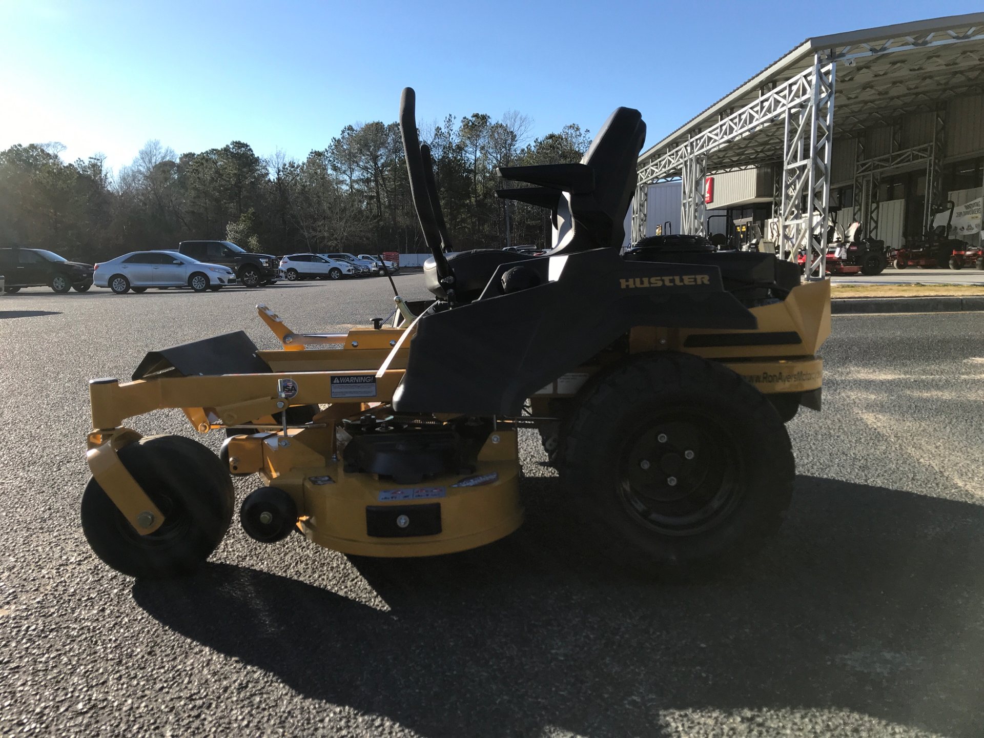 2021 Hustler Turf Equipment Raptor XD 54 in. Kawasaki FR691 23 hp in Greenville, North Carolina - Photo 4