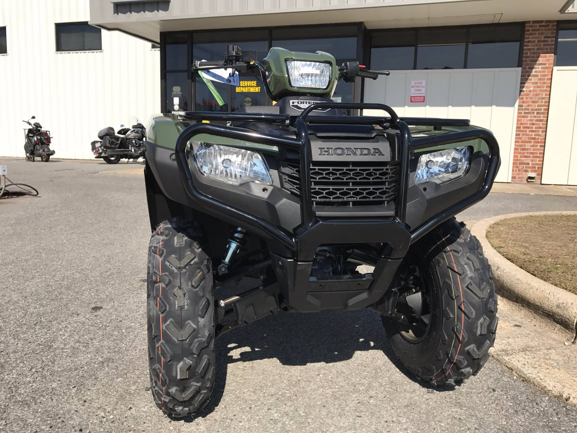2017 Honda FourTrax Foreman 4x4 in Greenville, North Carolina