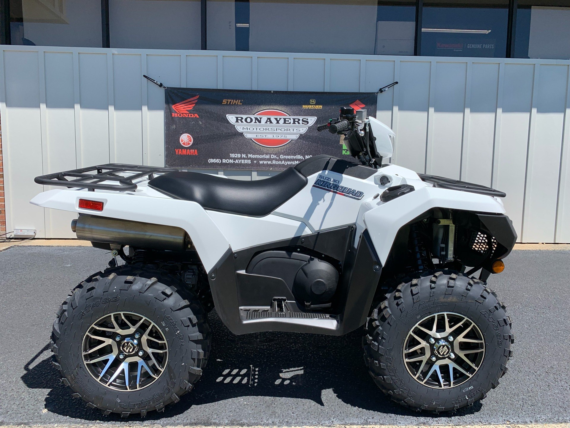 2019 Suzuki KingQuad 750AXi Power Steering SE in Greenville, North Carolina - Photo 1