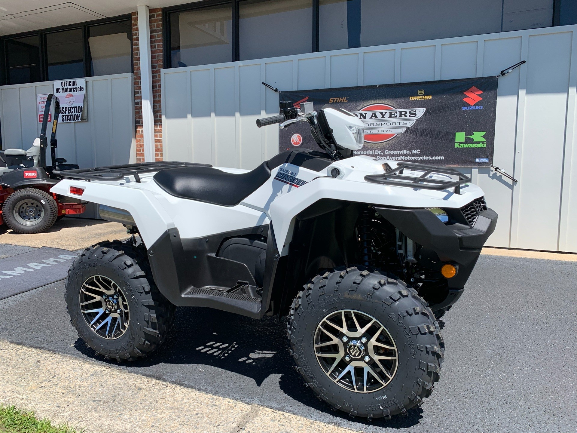 2019 Suzuki KingQuad 750AXi Power Steering SE in Greenville, North Carolina - Photo 2