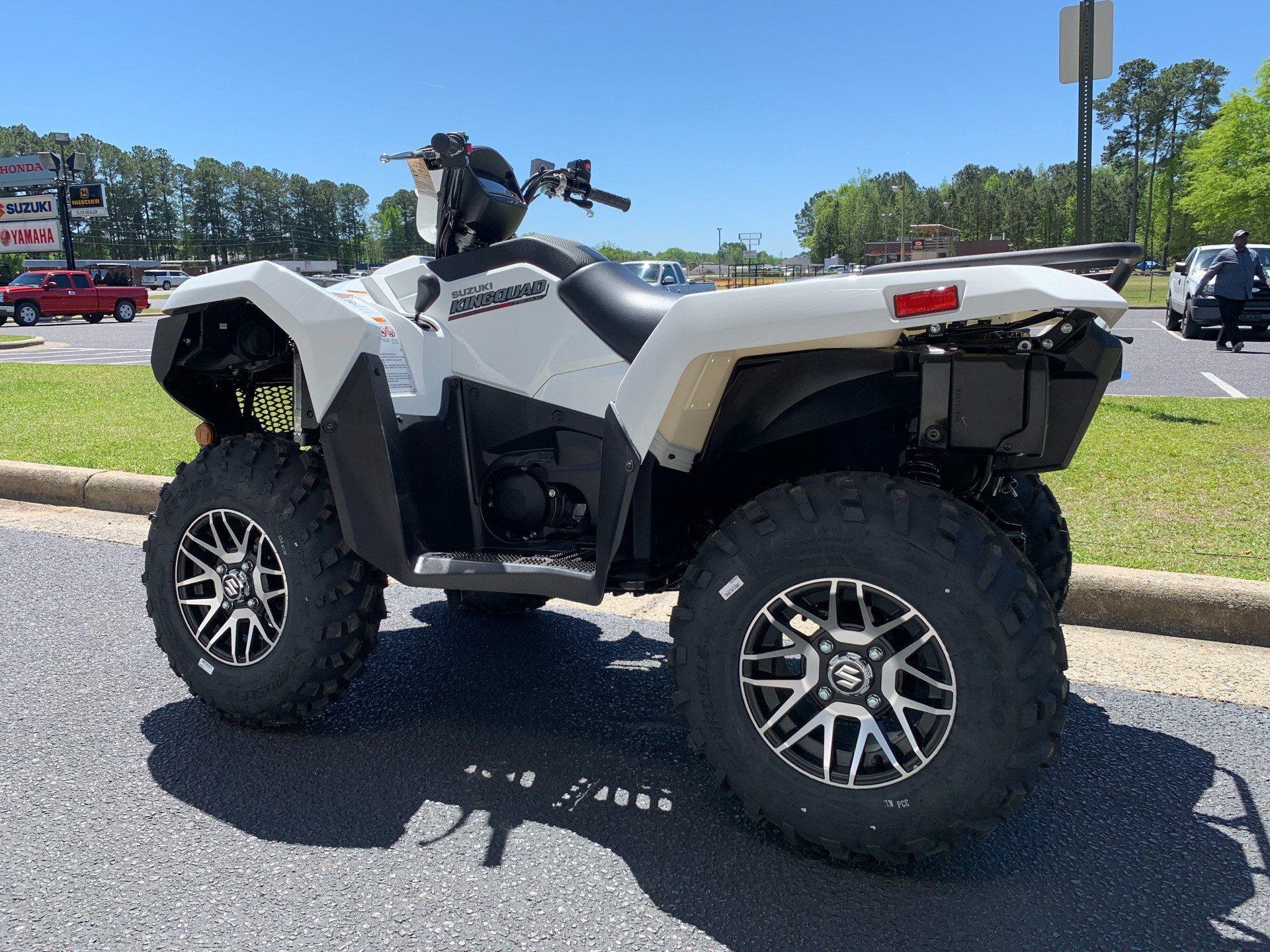 2019 Suzuki KingQuad 750AXi Power Steering SE in Greenville, North Carolina - Photo 8