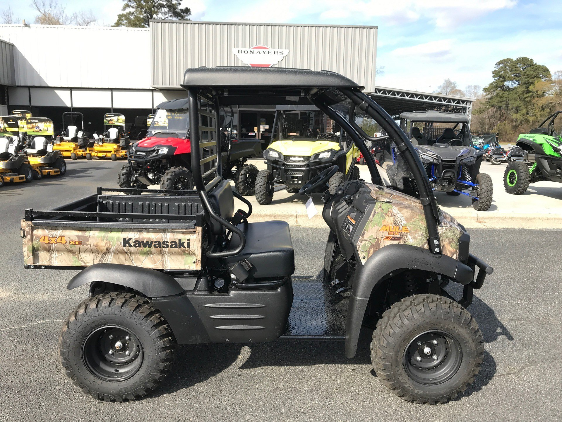 2020 Kawasaki Mule SX 4X4 XC Camo FI in Greenville, North Carolina - Photo 1