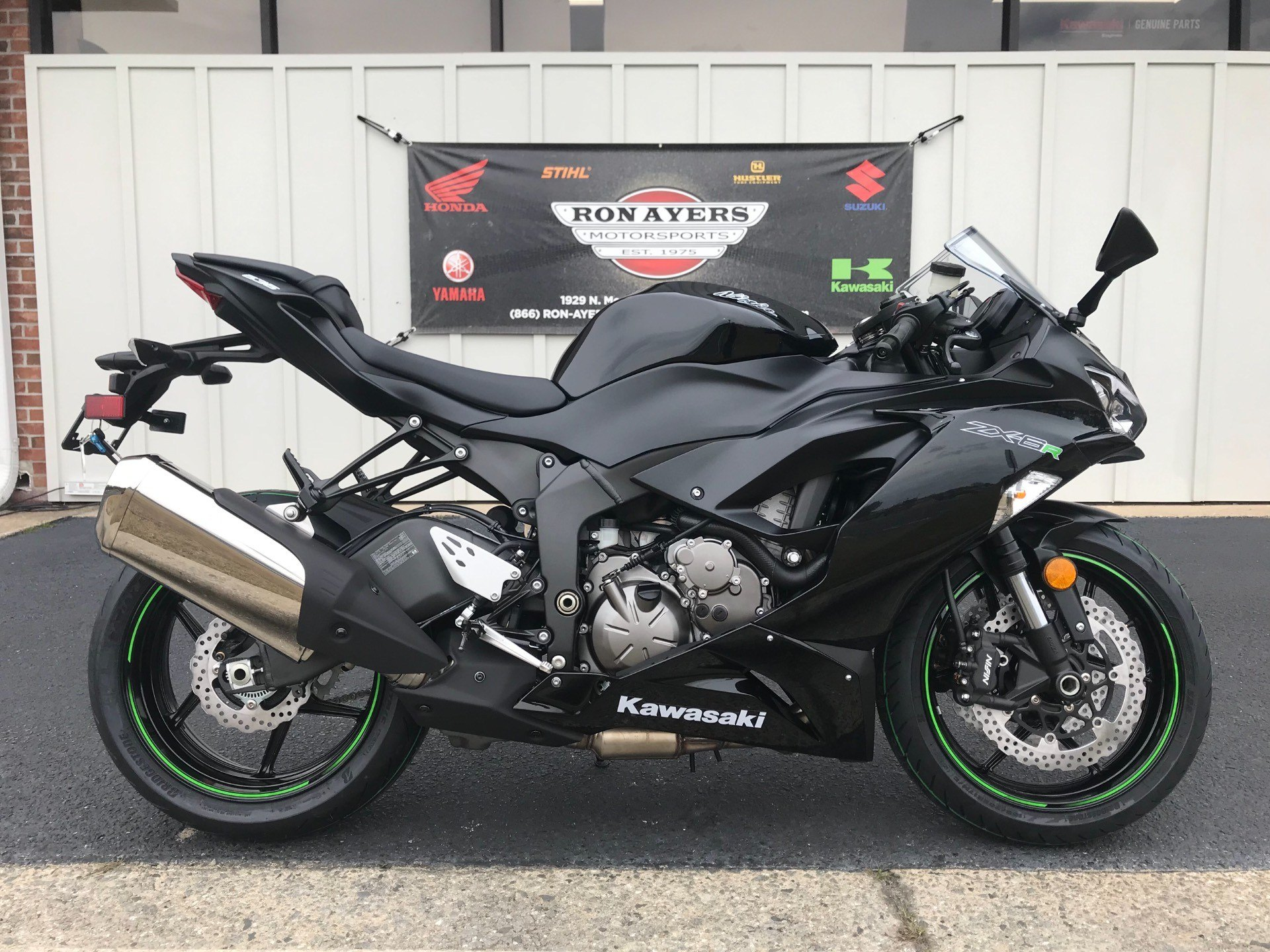 2019 Kawasaki NINJA ZX-6R in Greenville, North Carolina - Photo 1