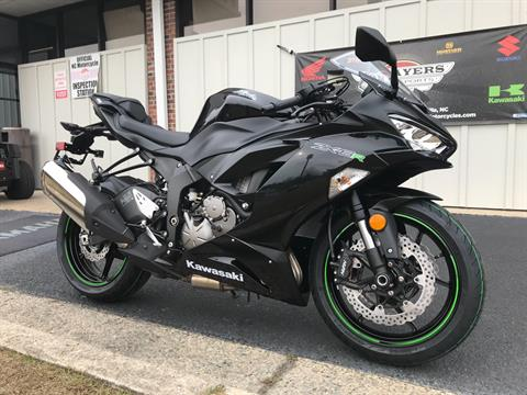 2019 Kawasaki NINJA ZX-6R in Greenville, North Carolina - Photo 2