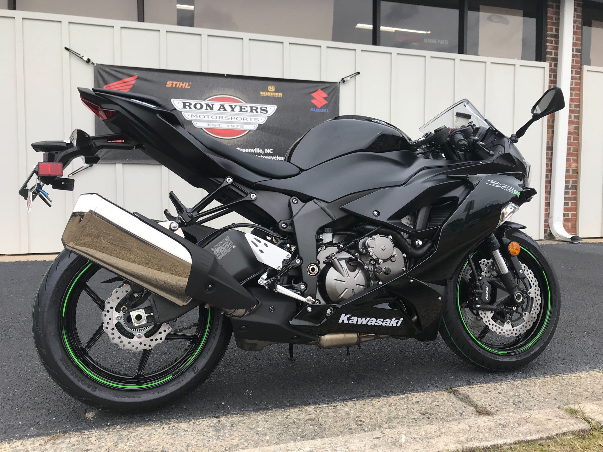 2019 Kawasaki NINJA ZX-6R in Greenville, North Carolina - Photo 12