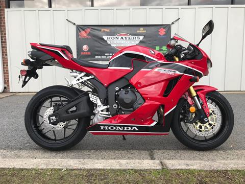 2018 Honda CBR600RR in Greenville, North Carolina
