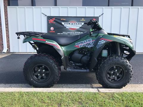 2019 Kawasaki Brute Force 750 4x4i in Greenville, North Carolina