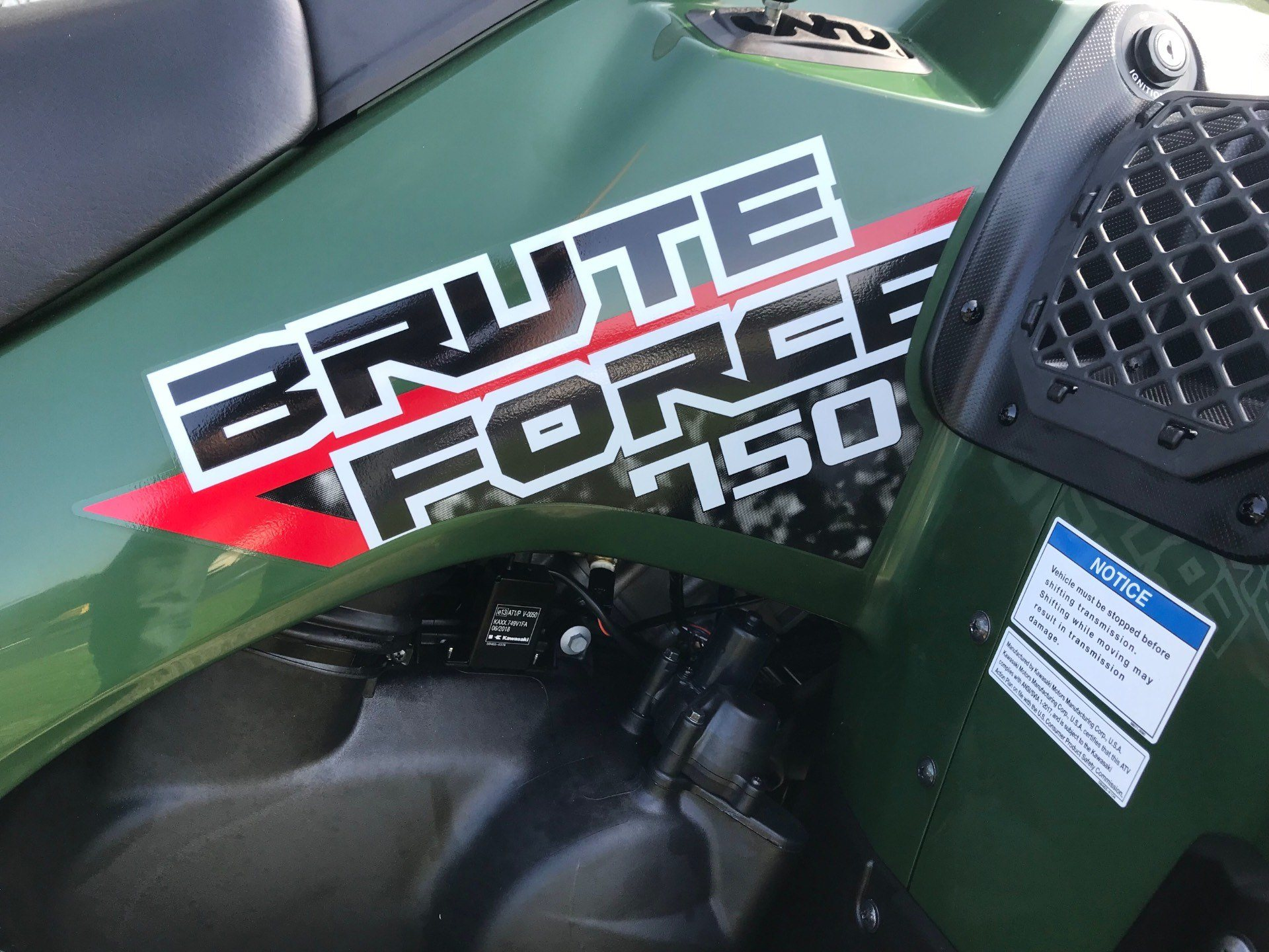 2019 Kawasaki Brute Force 750 4x4i in Greenville, North Carolina - Photo 14