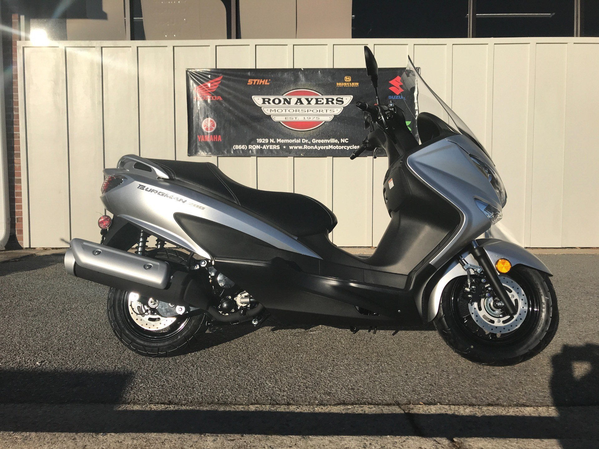 Scooters For Sale Greenville Nc >> New 2018 Suzuki Burgman 200 Scooters In Greenville Nc Stock