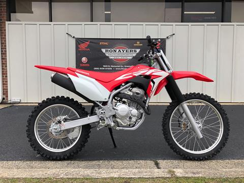 2019 Honda CRF250F in Greenville, North Carolina