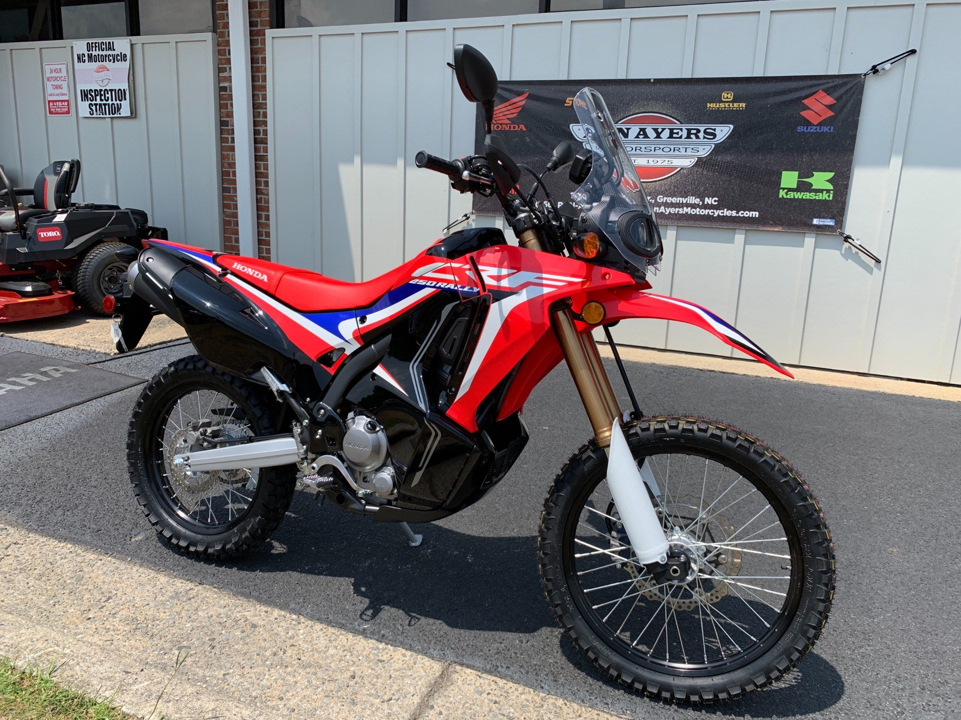 2019 Honda CRF250L Rally in Greenville, North Carolina - Photo 2