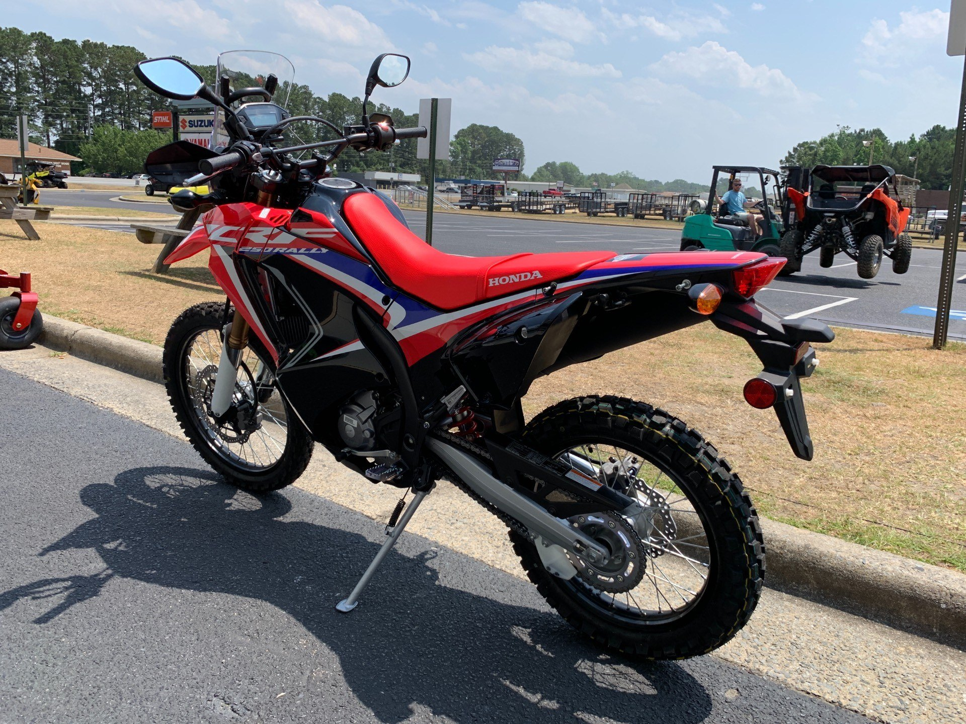 2019 Honda CRF250L Rally in Greenville, North Carolina - Photo 7