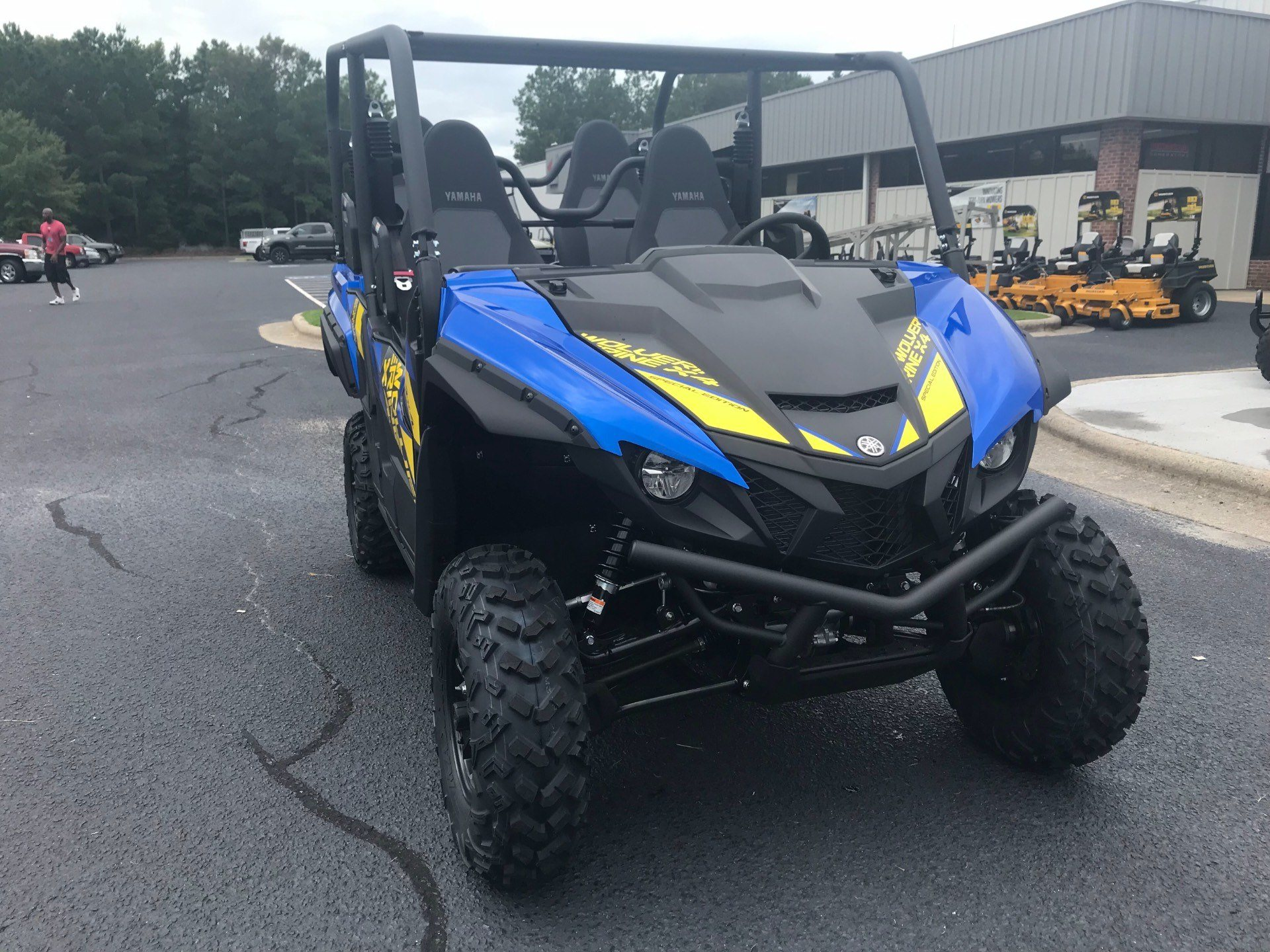 2019 Yamaha Wolverine X4 SE in Greenville, North Carolina - Photo 4