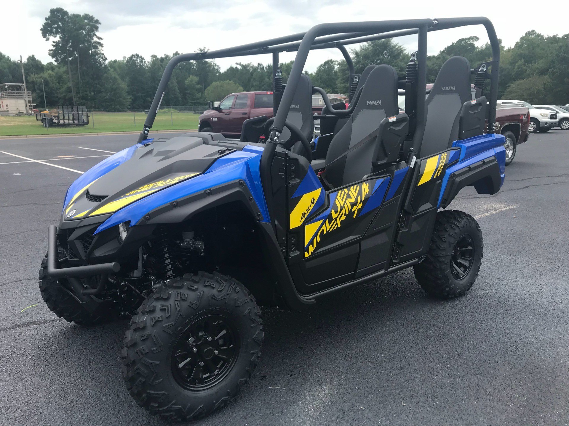 2019 Yamaha Wolverine X4 SE in Greenville, North Carolina - Photo 7