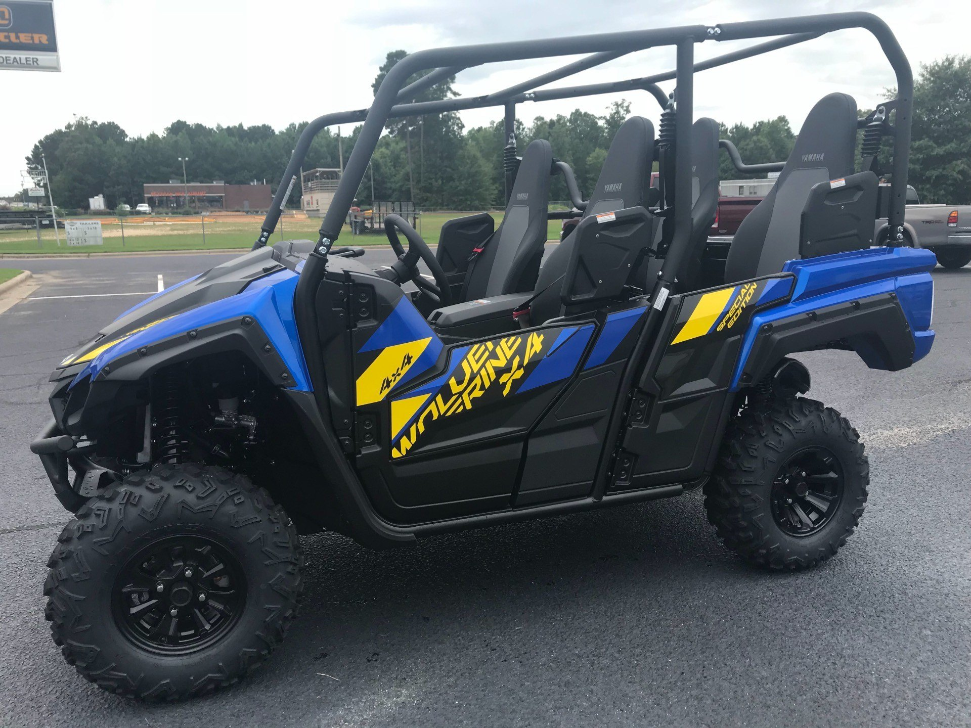 2019 Yamaha Wolverine X4 SE in Greenville, North Carolina - Photo 8