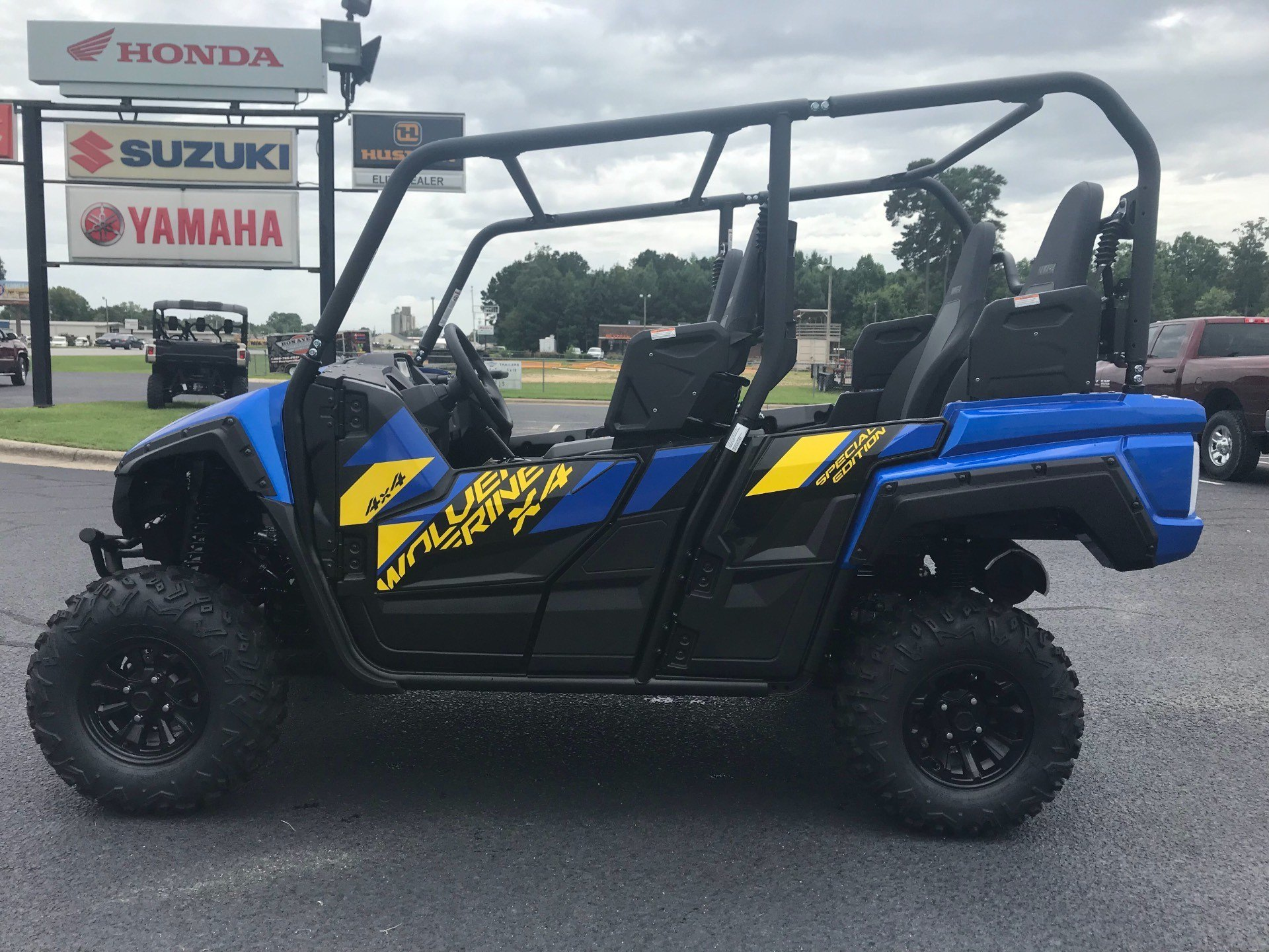 2019 Yamaha Wolverine X4 SE in Greenville, North Carolina - Photo 9