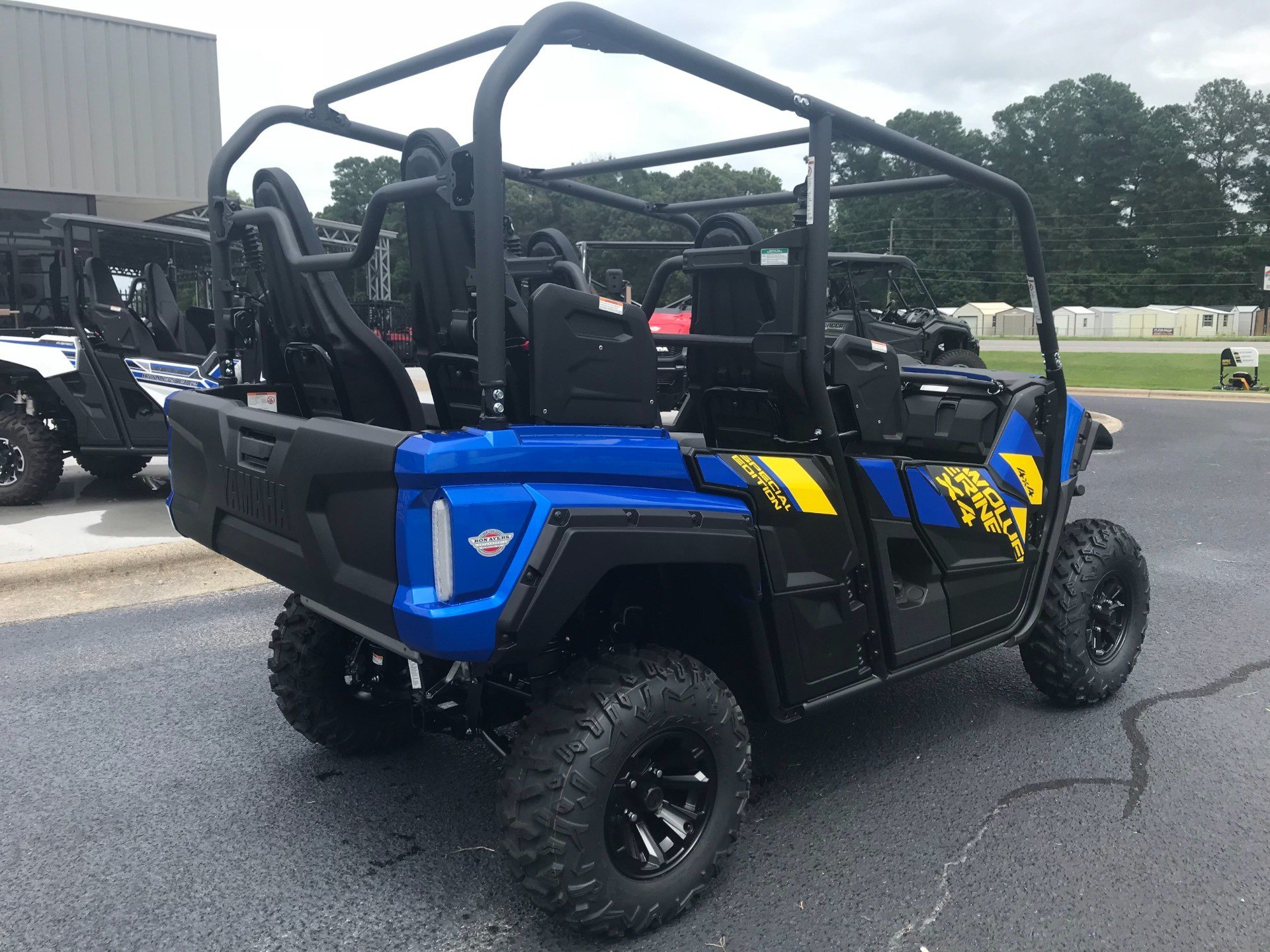 2019 Yamaha Wolverine X4 SE in Greenville, North Carolina - Photo 15