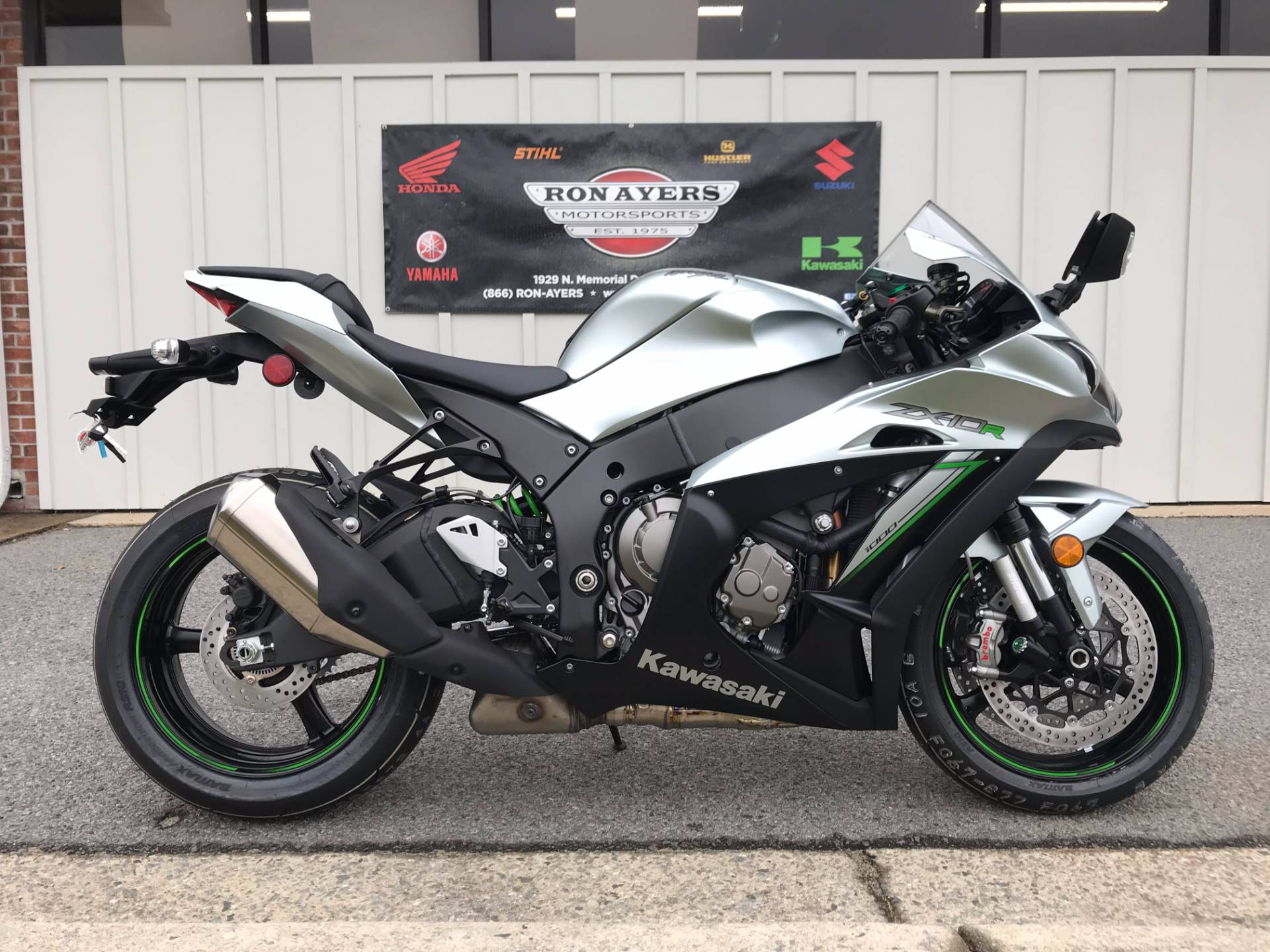 2018 Kawasaki Ninja ZX-10R ABS in Greenville, North Carolina