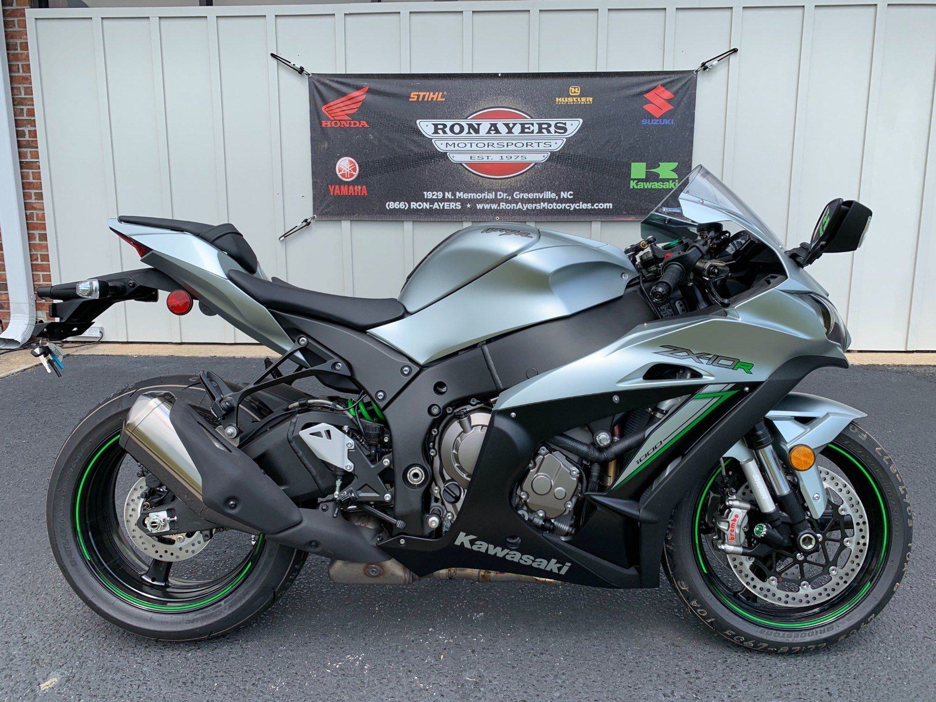 New 2018 Kawasaki Ninja Zx 10r Abs Motorcycles In Greenville Nc