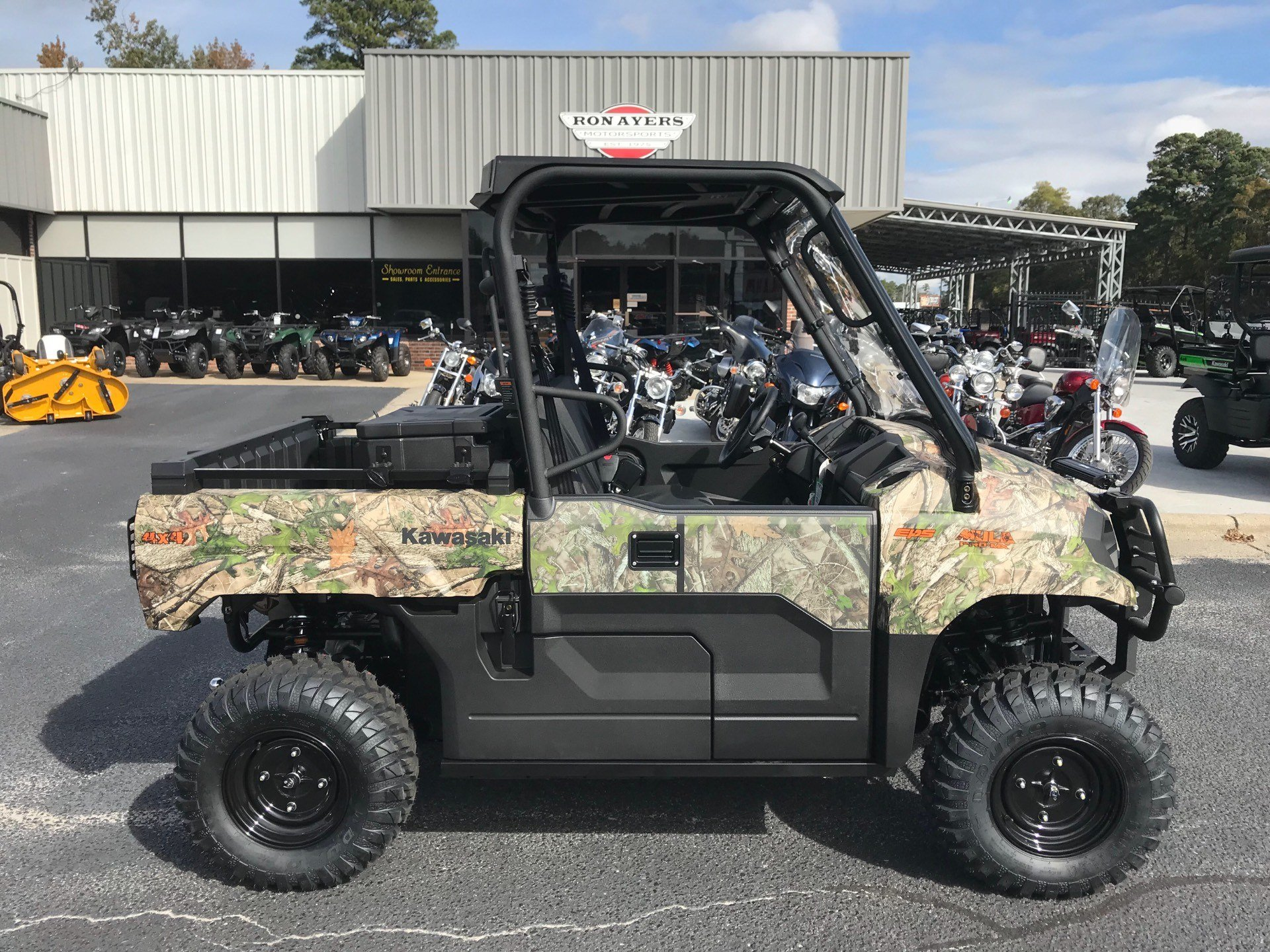 2019 Kawasaki Mule PRO-MX EPS Camo in Greenville, North Carolina - Photo 1