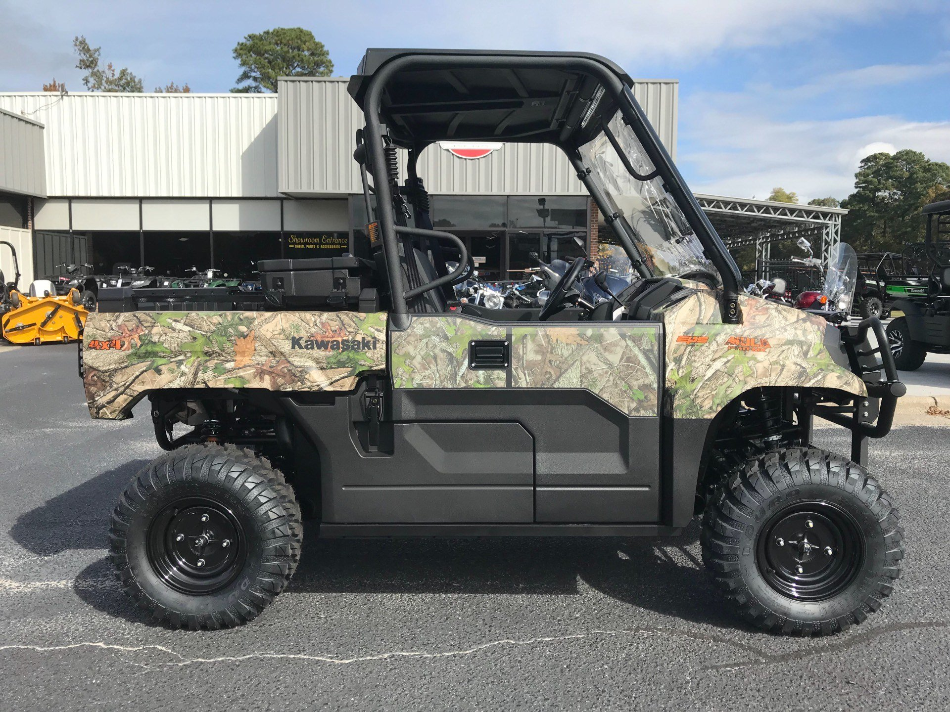 2019 Kawasaki Mule PRO-MX EPS Camo in Greenville, North Carolina - Photo 2