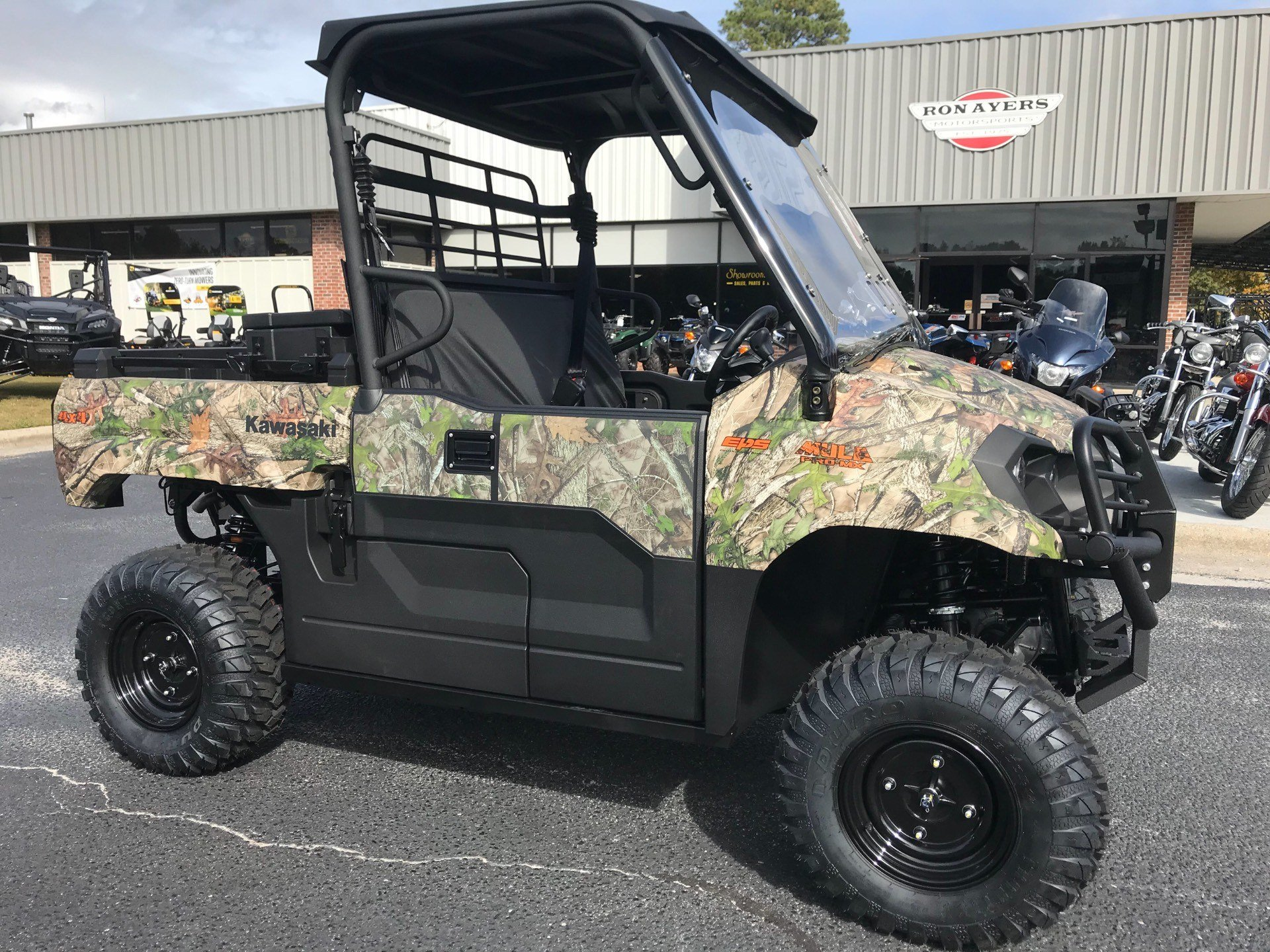 2019 Kawasaki Mule PRO-MX EPS Camo in Greenville, North Carolina - Photo 3