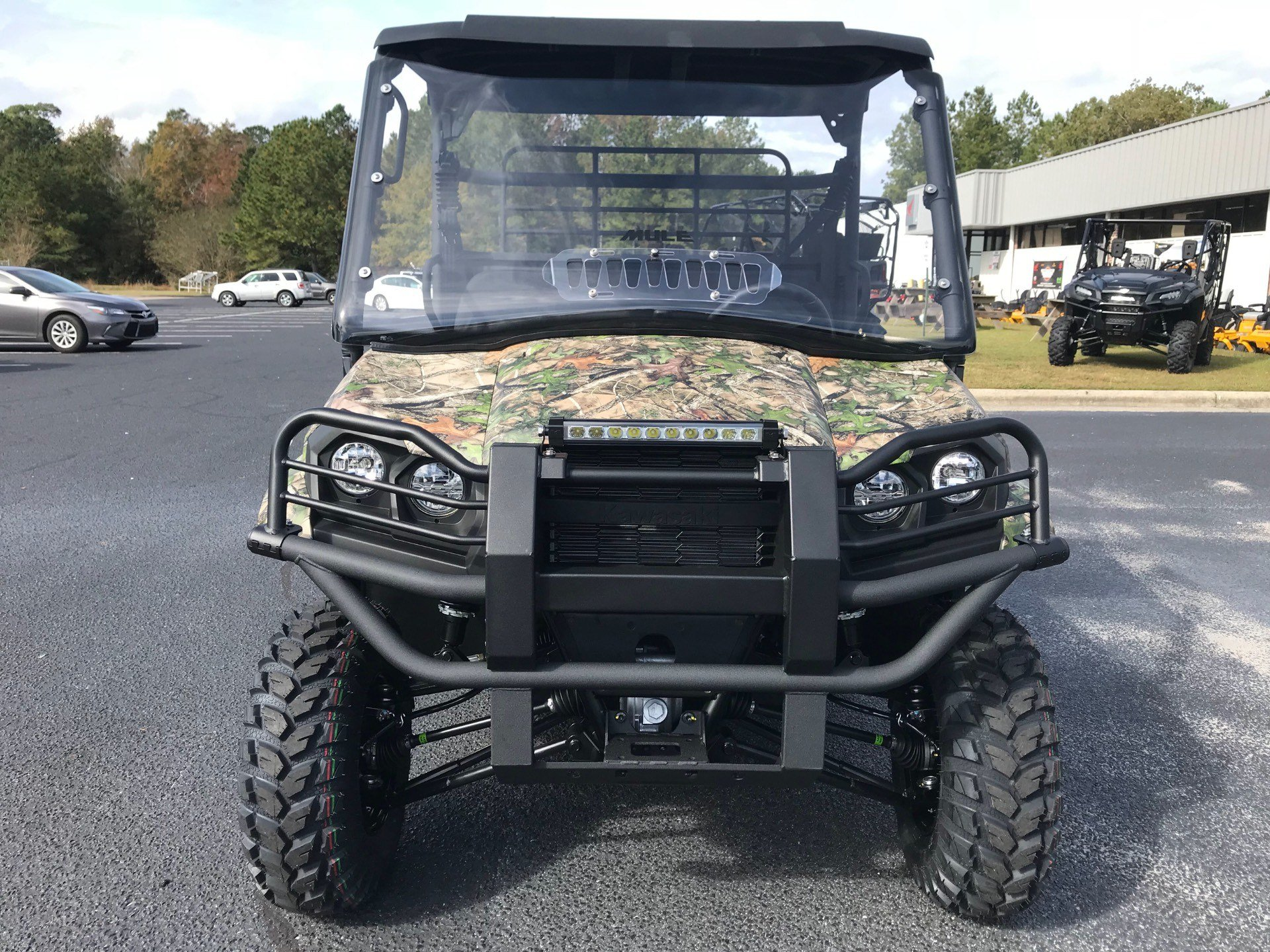 2019 Kawasaki Mule PRO-MX EPS Camo in Greenville, North Carolina - Photo 5