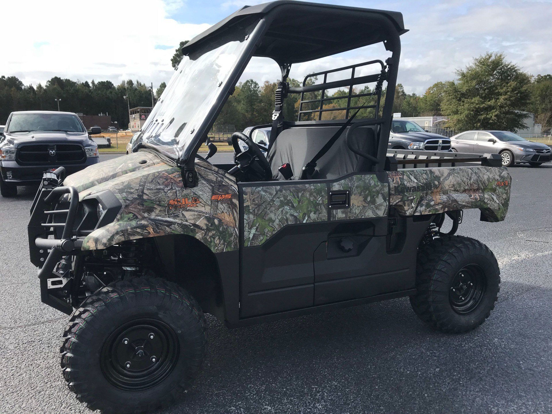 2019 Kawasaki Mule PRO-MX EPS Camo in Greenville, North Carolina - Photo 7