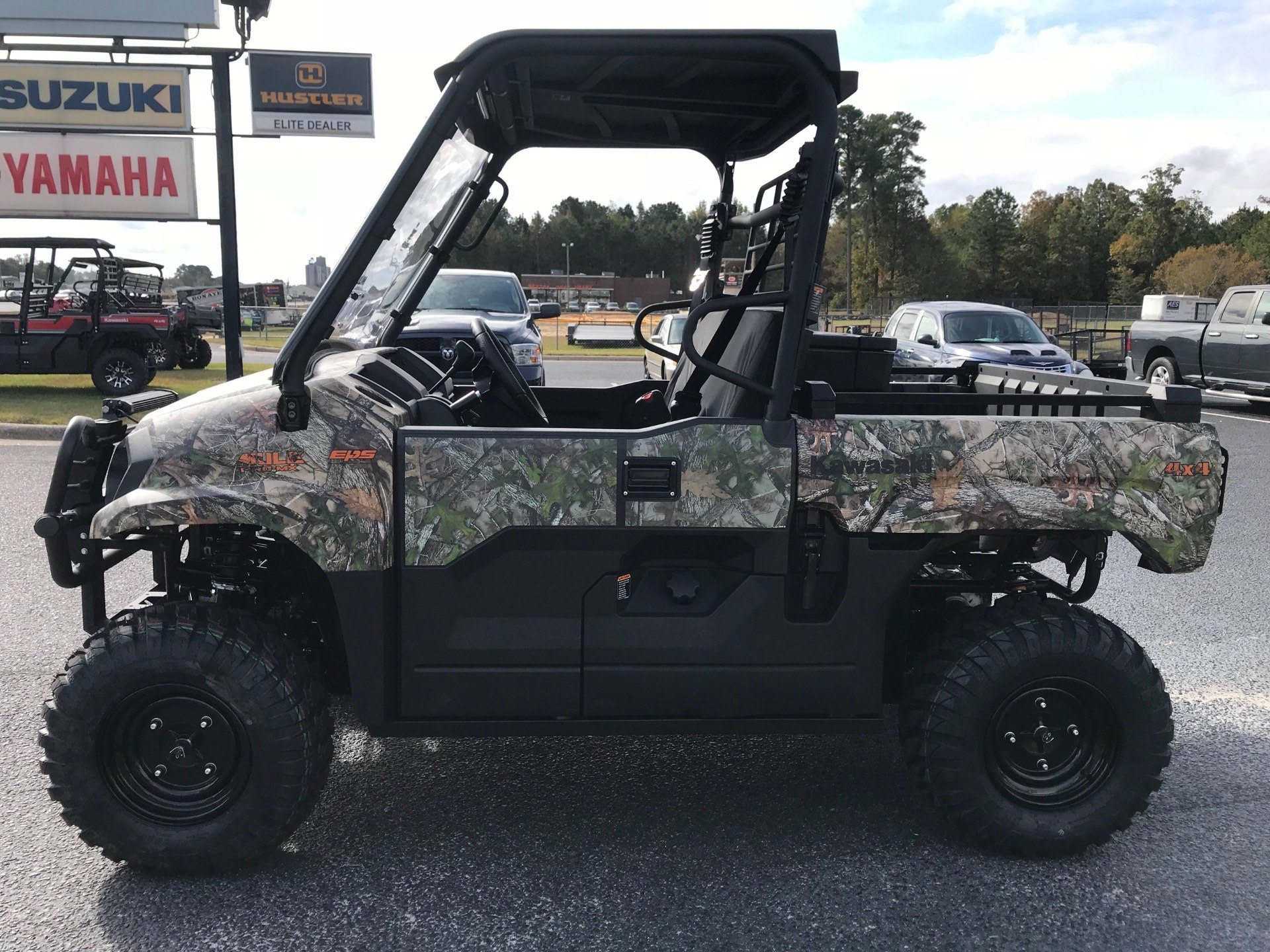 2019 Kawasaki Mule PRO-MX EPS Camo in Greenville, North Carolina - Photo 8