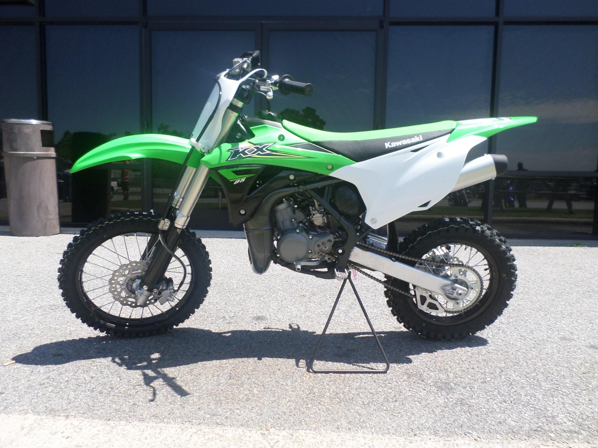 New 2017 Kawasaki KX85 Motorcycles in Greenville NC