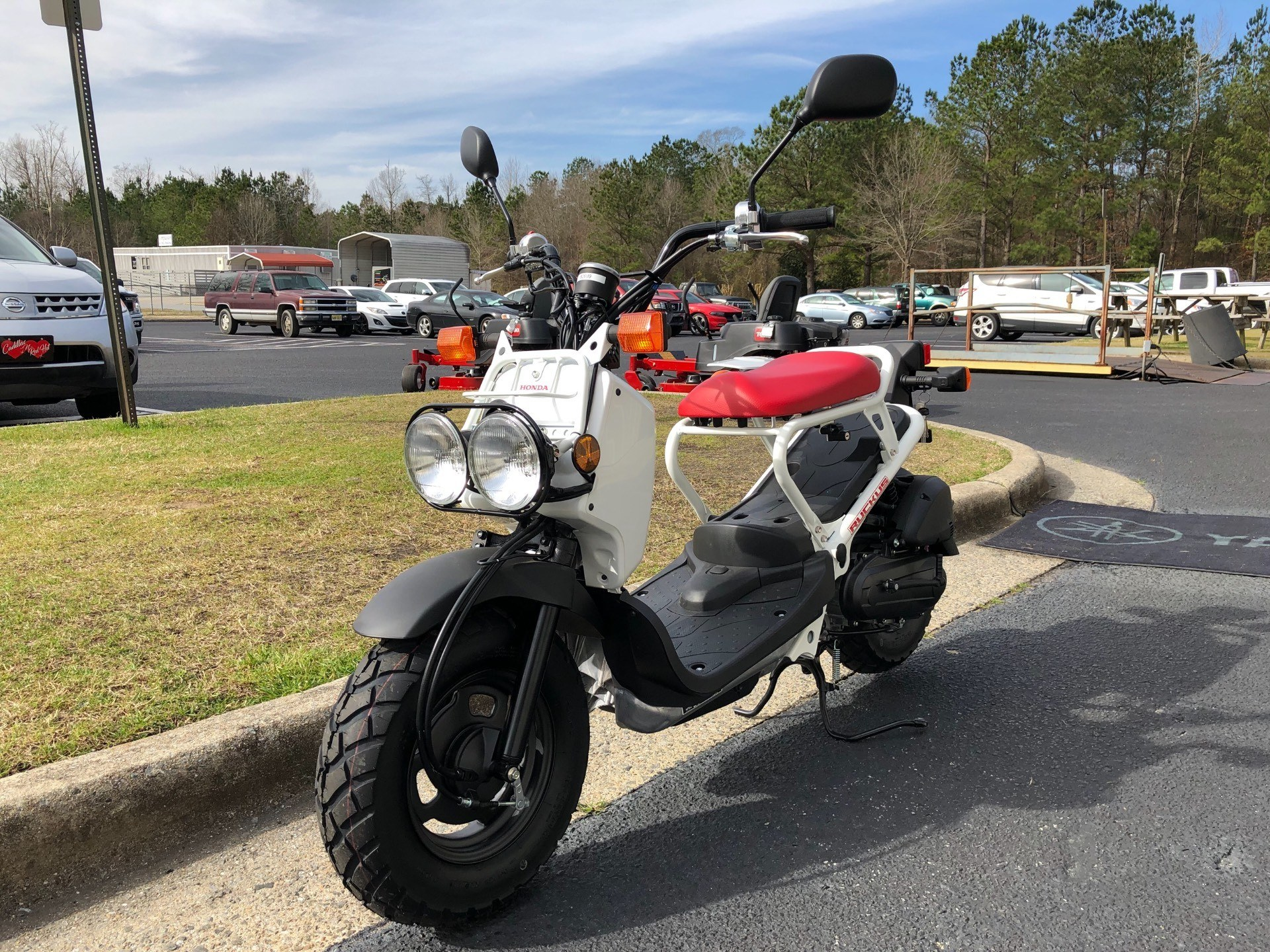 2018 Honda Ruckus in Greenville, North Carolina - Photo 5