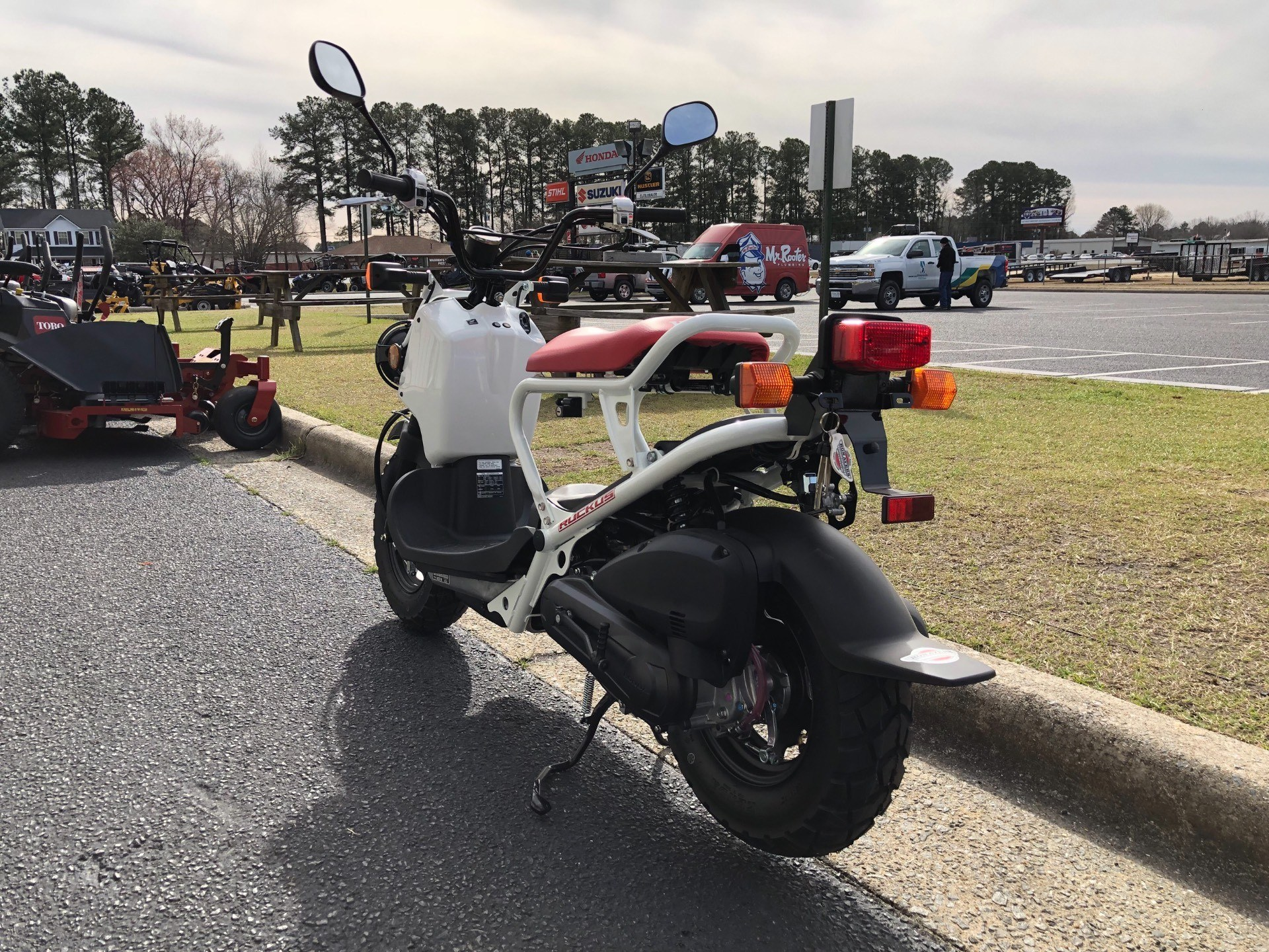 2018 Honda Ruckus in Greenville, North Carolina - Photo 9