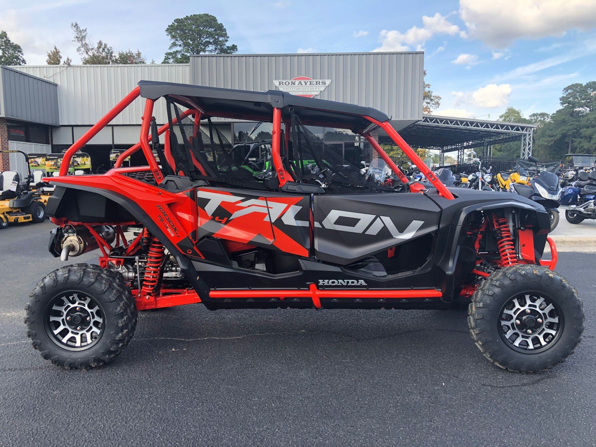 2020 Honda Talon 1000X-4 FOX Live Valve in Greenville, North Carolina - Photo 1