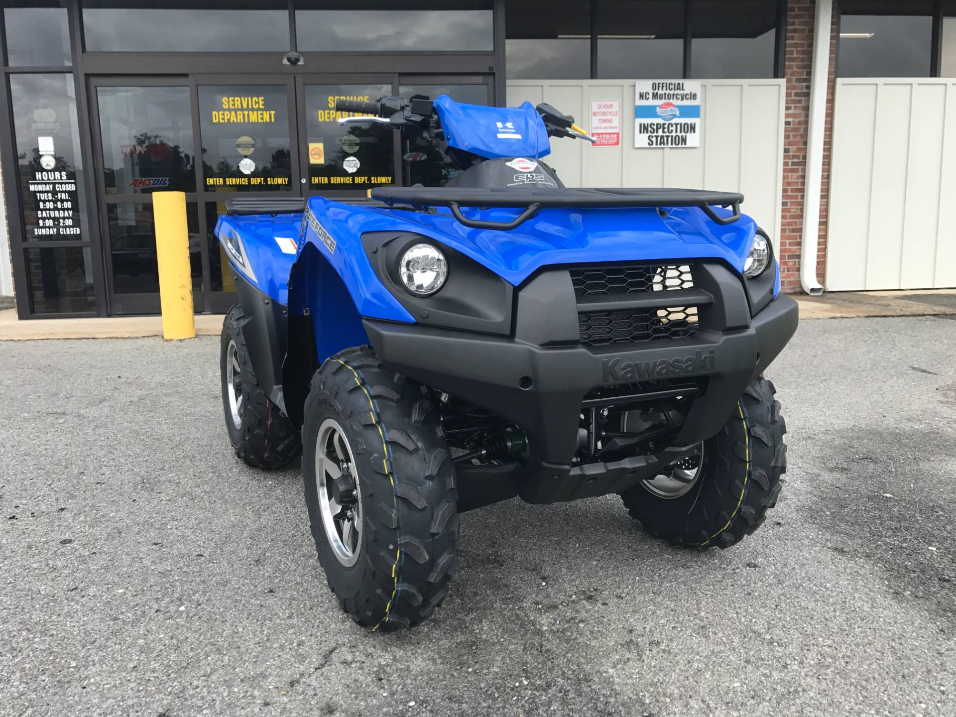 2018 Kawasaki Brute Force 750 4x4i EPS in Greenville, North Carolina - Photo 3
